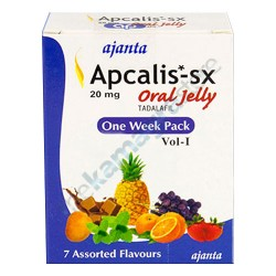 Ajanta Apcalis-SX 20 mg Oral jelly One Week Pack Vol-1