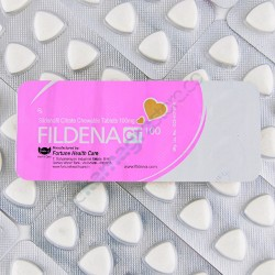 Fildena CT 100 Sildenafil Citrate Chewable Tablets 100mg, www.fildena.com
