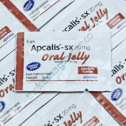 Apcalis SX 20 mg Oral Jelly Chocolate Flavour