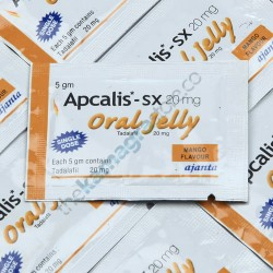 Apcalis SX 20 mg Oral Jelly Mango Flavour