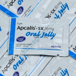 Apcalis SX 20 mg Oral Jelly Mint  Flavour