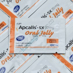 Apcalis SX 20 mg Oral Jelly Orange Flavour